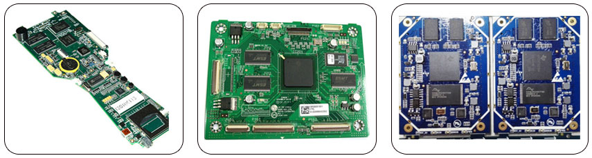 PCB samenstel monsters