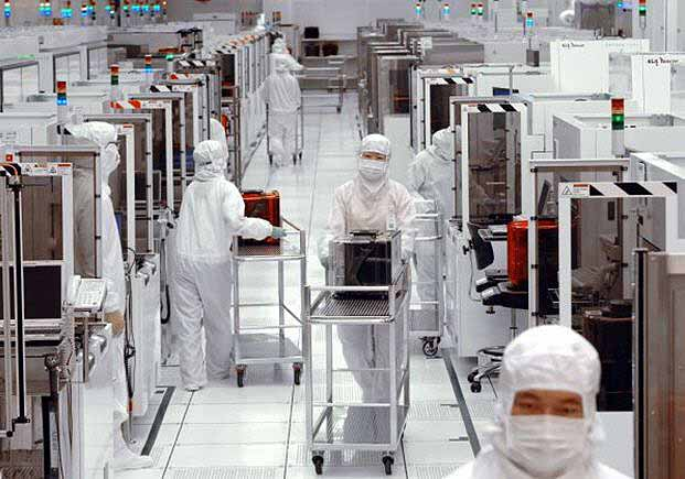 Wafer fab manufacturing