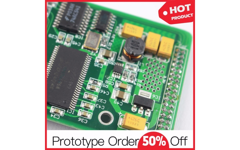 Smart Shower System PCB Assembly