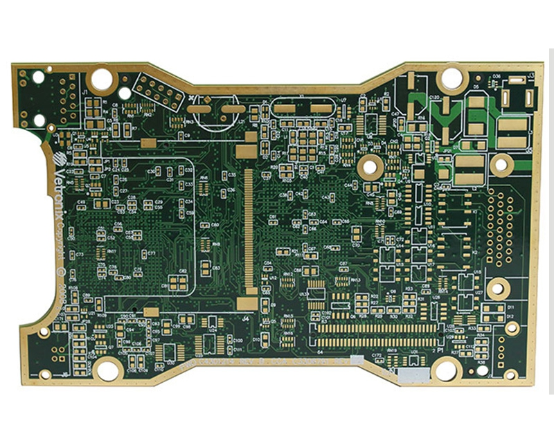 10 Layers HDI PCB Board with ENIG
