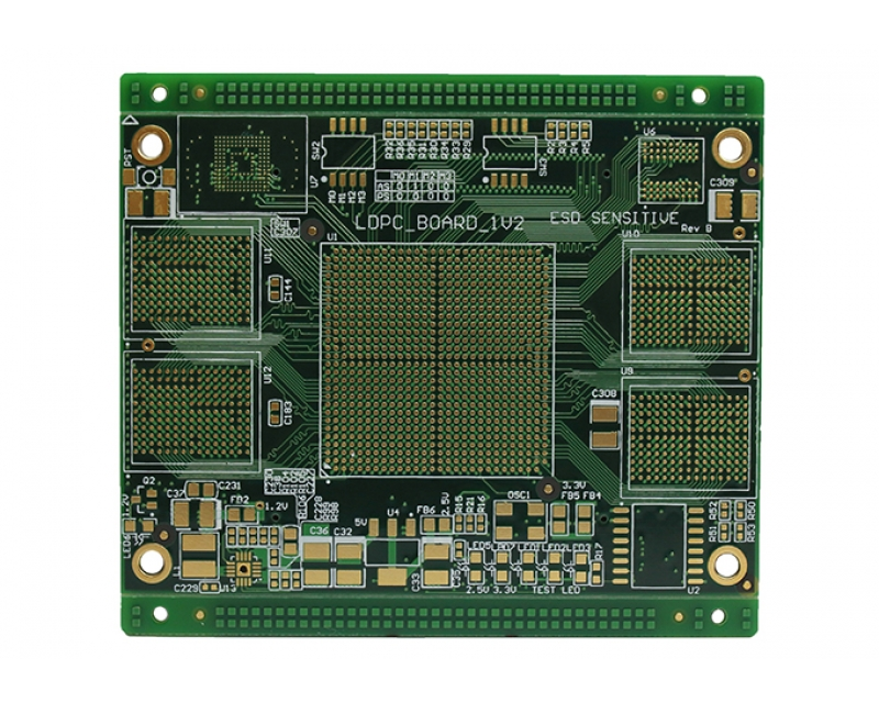 10 Layers Impedance Controlled Circuit Board