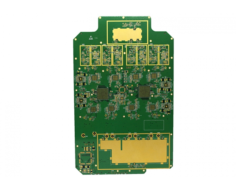 10 Layers ENIG Circuit Board with Golden Finger and Tg